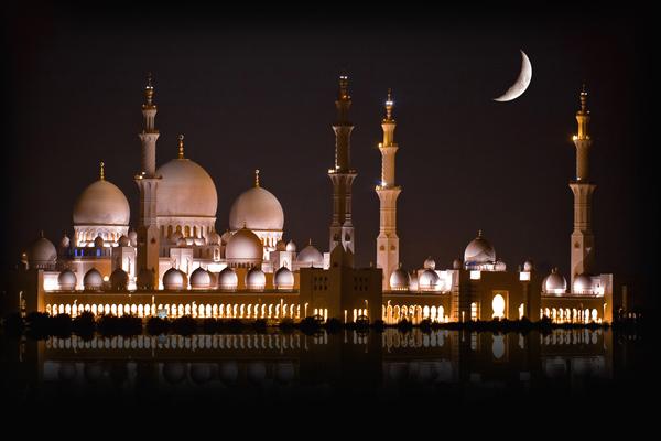 مسجد الشيخ زايد، أبوظبي ـ الإمارات