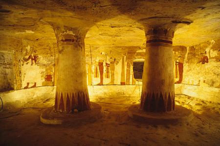 مقبرة (آمون جد ف عنخ)ـ الواحة البحرية ، مصر