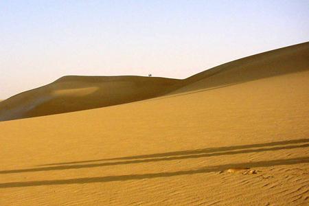 كثبان الرمال ـ الواحة البحرية ، مصر