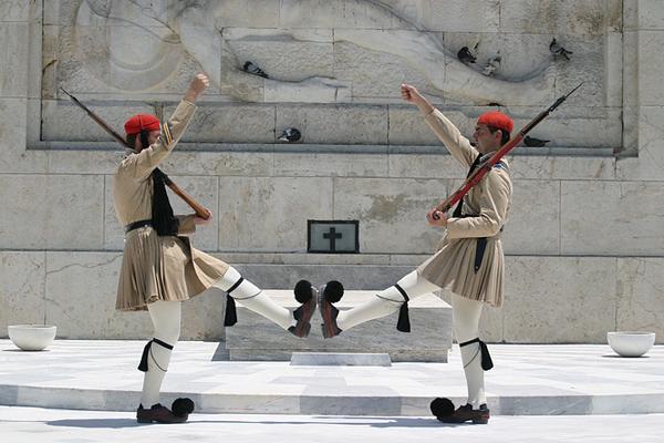 """ميدان """"سينتاجما"""" أثينا ـ اليونان"""