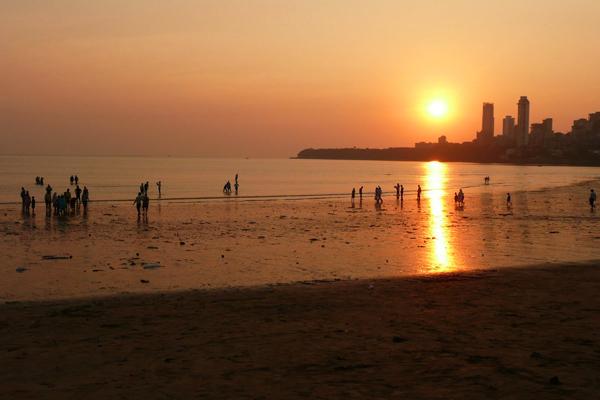 شاطئ بومباي
