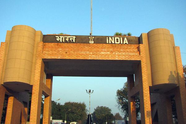مدينة واجاه الحدودية بين الهند وباكستان