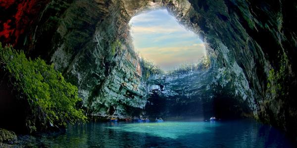 بحيرة ميليساني، اليونان