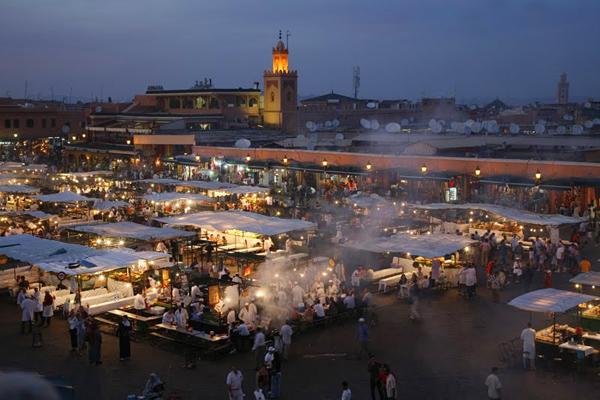 ساحة جامع الفنا، مراكش ـ المغرب
