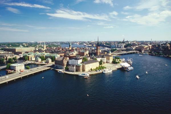 وسط ستوكهولم ـ السويد
