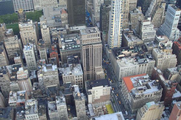 """المنظر من مبنى """"إمباير ستيت"""" نيويورك"""