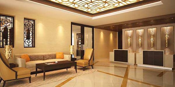 بهو فندق ريزيدنس إن من ماريوت الجفير ، البحرين