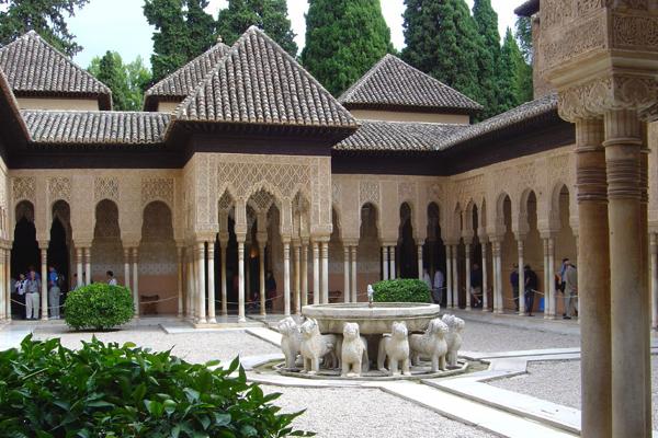 قصر الحمراء، غرناطة ـ الأندلس