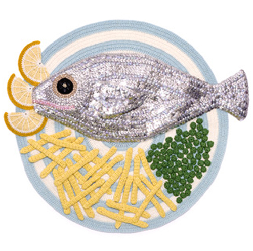 أسماك من الغزل