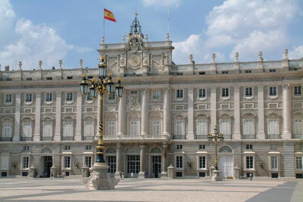 القصر الملكي، مدريد