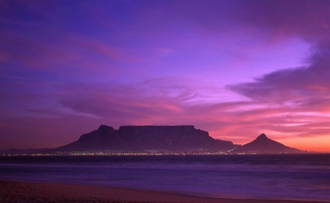 جبل الطاولة، كيب تاون ـ جنوب أفريقيا