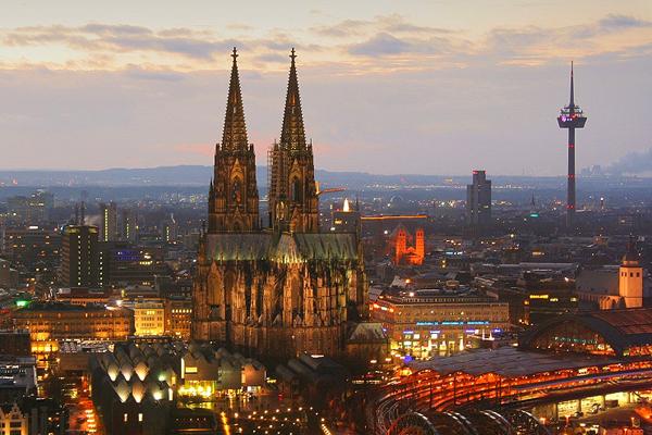 كاتدرائية كولونيا، كولونيا ـ ألمانيا