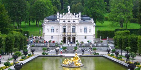 قصر ليندروف، بافاريا ـ ألمانيا