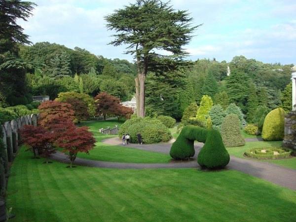 متنزه ألتون تاورز في ستافوردشاير، بريطانيا