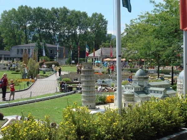 حديقة المجسمات المصغرة في كلاغنفورت، النمسا