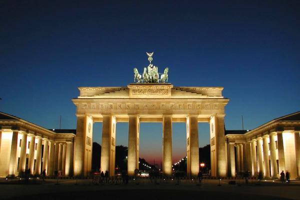 بوابة براندنبورج، برلين ـ ألمانيا