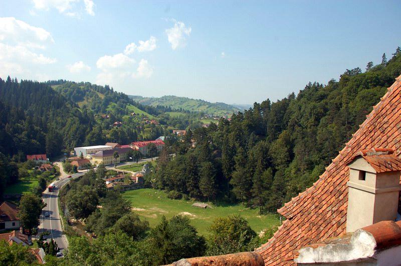 المنطقة المحيطة بالقلعة