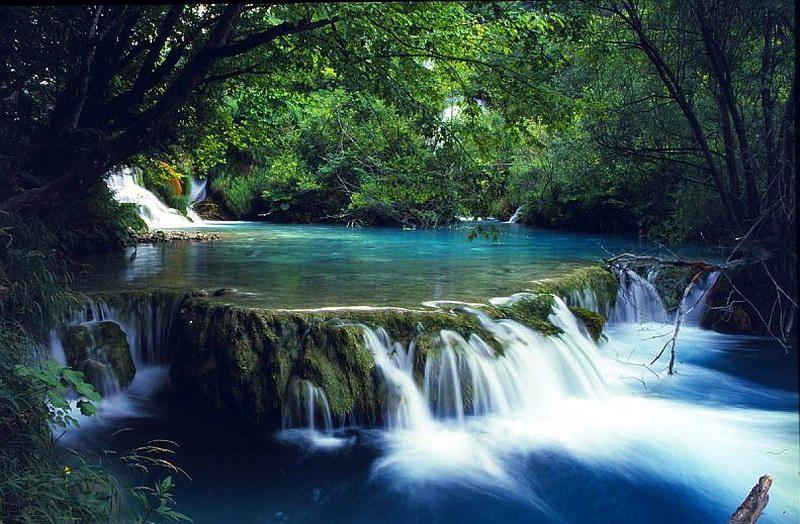 مياه كريستالية تملأ البارك