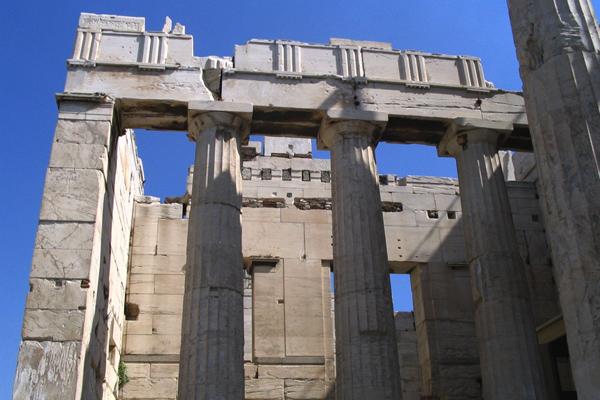 بوابة بروبيليون Propylaea