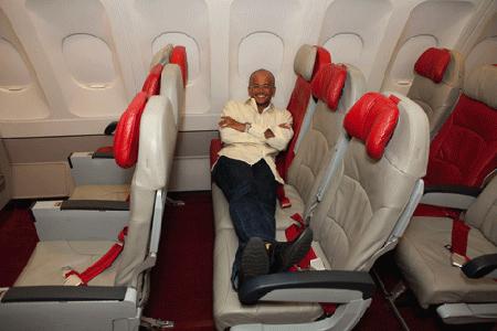 خيار المقعد الخالي من طيران آسيا