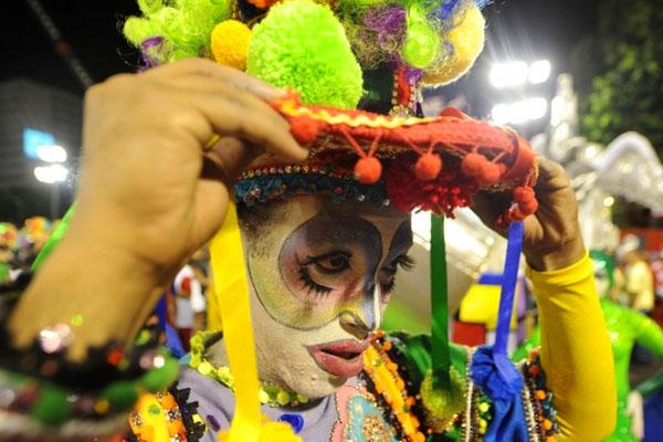 صور من كرنفال ريو دي جانيرو في البرازيل