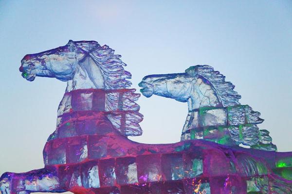 مهرجان هاربين السنوي للثلوج