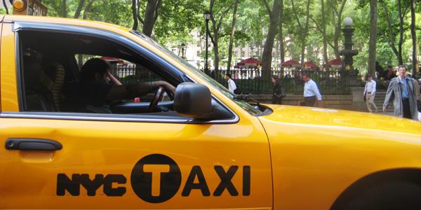 سيارات الأجرة في نيويورك