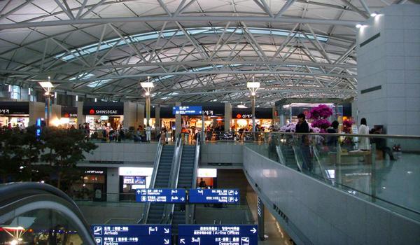 مطار إنتشون في كوريا الجنوبية