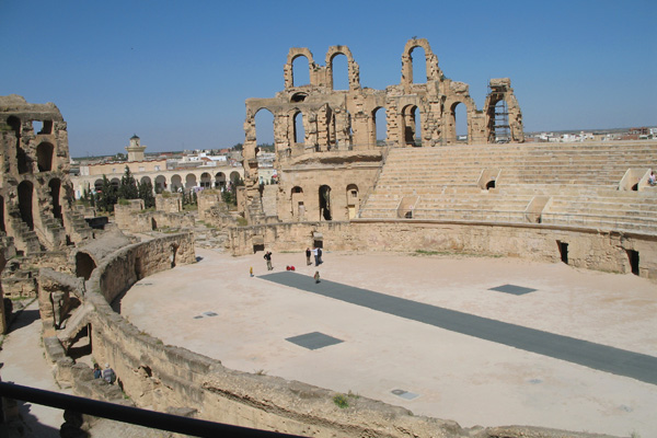 من الآثار الرومانية في مدينة سوسة، تونس