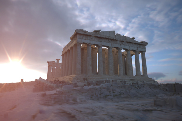 معبد البارثنون The Parthenon