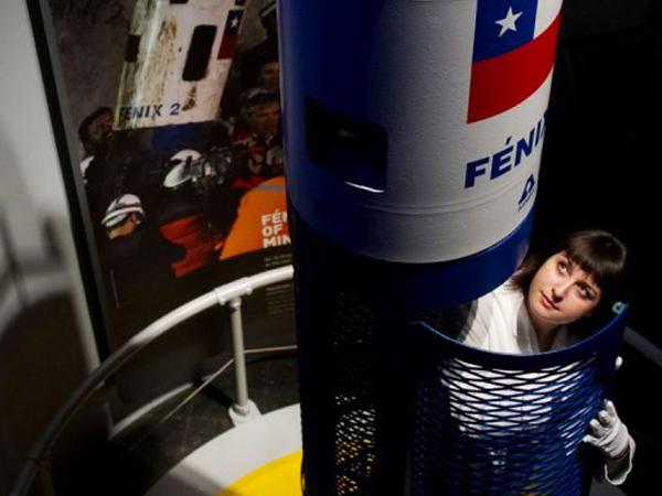 كبسولة إنقاذ عمال المنجم في تشيلي