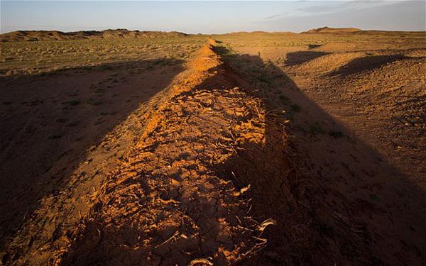 اكتشاف أجزاء جديدة من سور الصين العظيم