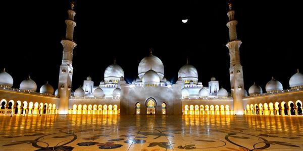 جامع الشيخ زايد، أبوظبي