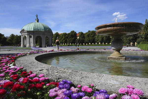 ميونيخ في فصل الربيع، ألمانيا