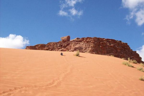 كثبان الرمال في وادي رم، الأردن