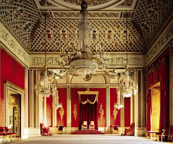 قاعة العرش، قصر باكنجهام، لندن