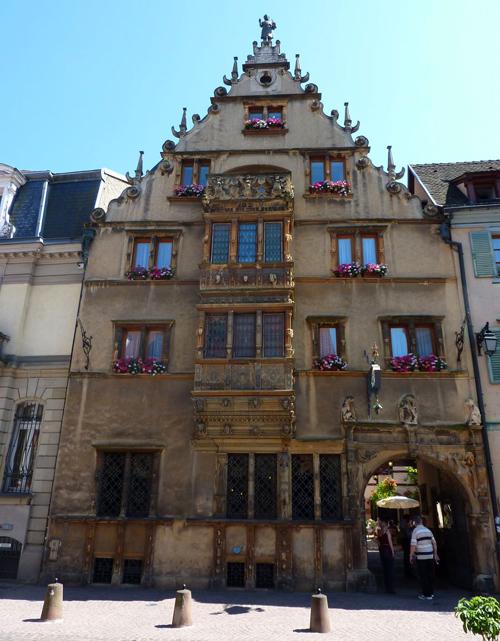 منزل الرؤساء في كولمار، فرنسا