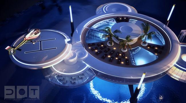 """فندق """"قرص الماء""""، دبي Water Discus Hotel"""
