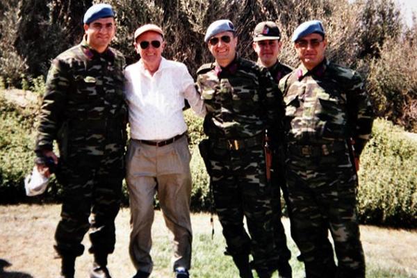 كيث رايت في إحدى رحلاته إلى تركيا