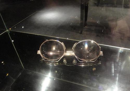 نظارة أم كلثوم في متحفها بالقاهرة