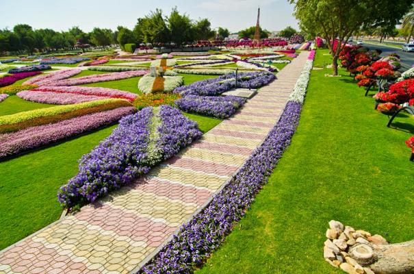 تسعى الحديقة كل عام لتنسيق أفضل وأجمل ـ 2012