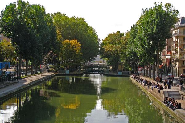 قناة سانت مارتن، باريس