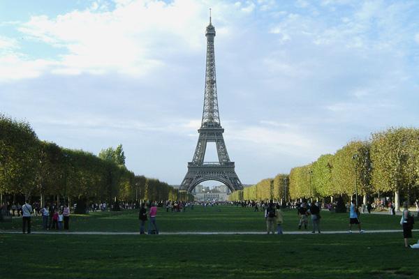 حديقة  لو شامب دي مارس ، باريس