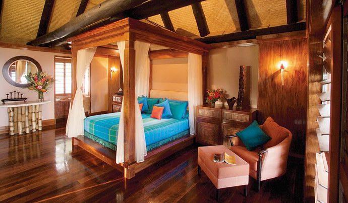 """غرفة نوم في فيلات """"جين ميشيل كوستو"""""""