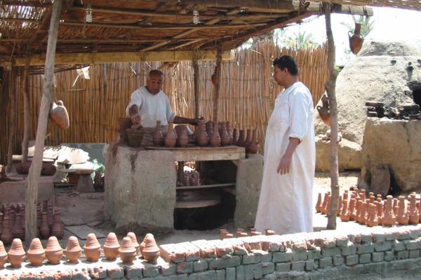 القرية الفرعونية بالجيزة، مصر