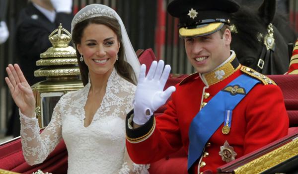 زفاف الأمير ويليام وزوجته كيت ميدلتون