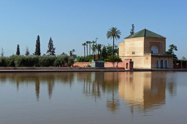 في حدائق المنارة في مراكش