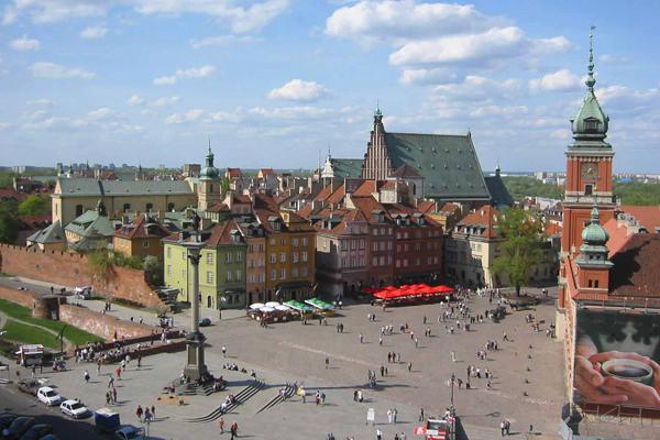 القلب التاريخي لمدينة وارسو أحد مواقع التراث العالمي
