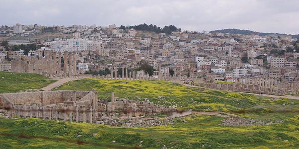 مدينة جرش.. مدينة الألف عمود