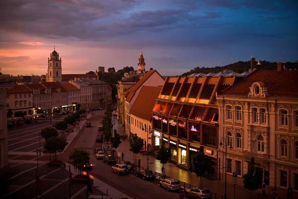 العاصمة الليتوانية فيلينوس أحد المراكز الثقافية المهمة في أوروبا